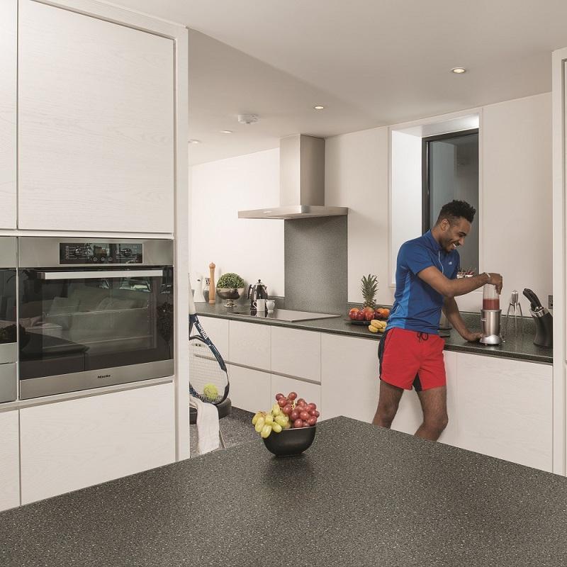 Kitchen Worktops Direct: Black Fleck – Kitchen Worktops Online