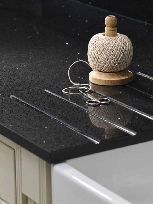 m-stone black diamond stone quartz