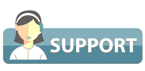 customer service and support logo