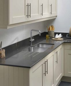 Cream Coloured Ceramic Kitchen Sinks