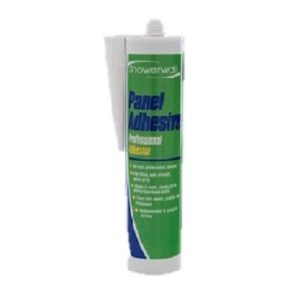 panel adhesive for splash panels and kitchen splashbacks